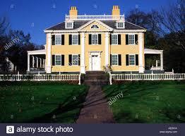 henry wadsworth longfellow house cambridge massachusetts stock