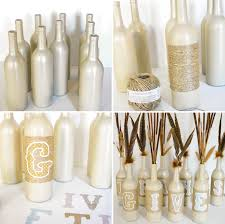 ruff draft thanksgiving decor with recycled wine bottles anders