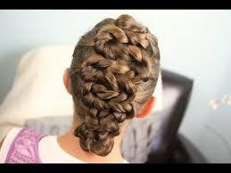 updos cute girls hairstyles youtube zig zag twists updos cute girls hairstyles makeup videos