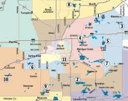 White Lake Michigan Map by Guide To Jackson County Lakes Where To Go On Those Days