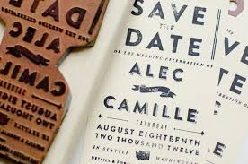 Save The Date Stamp Alec U0026 Camille Save The Date Lovely Stationery Curating The