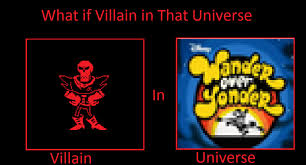 Wander Over Yonder Meme - underfell papyrus in wander over yonder by stickythefireband on