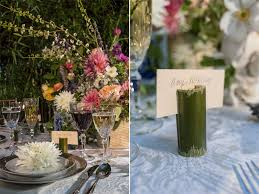 wedding flowers ri basked in bamboo fairytale tablescape at blithewold mansion