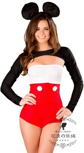 Minnie Mouse Womens Halloween Costume Minnie Mouse Women Ladies Fancy Dress Party Costume Role Play