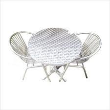 Aluminium Bistro Chairs Pluto Aluminium Bistro Set Home Furniture And Décor