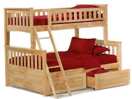 Stunning Futon Bunk Bed Wood Images Chynaus Chynaus - Twin bunk bed with futon convertible