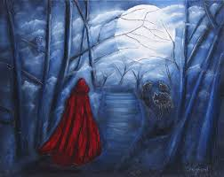 red riding hood painting crawford