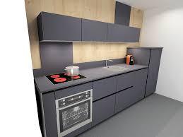 meuble hotte cuisine buffet modulable avec table extensible int gr e en mdf of meuble