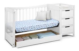 How To Convert Graco Crib To Full Size Bed by Graco Remi 4 In 1 Convertible Crib And Changer U0026 Reviews Wayfair