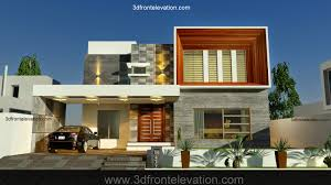 Architectural Design Of 1 Kanal House 3d Front Elevation Com May 2014