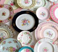 vintage china i the idea of mismatched dishes pretty dishes