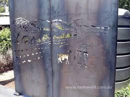 Garden Wall Art Australia - metal garden art metal wall art australia farmweld