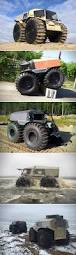 amphibious dodge truck first look at sherp atv a mini amphibious monster truck that goes