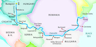 Map Of European Rivers by Budapest To The Black Sea Gems Of Eastern Europe River Cruise