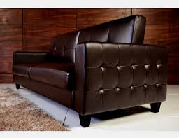 Tufted Faux Leather Sofa Tufted Faux Leather Sofa Bed Brown Bachelor On A Budget