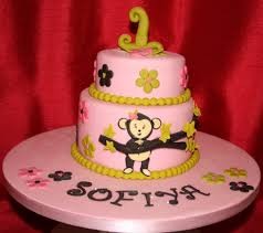 cheeky monkey girls 1st birthday cake cheeky monkey girls u2026 flickr