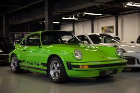green porsche 911 1974 porsche 911 carrera