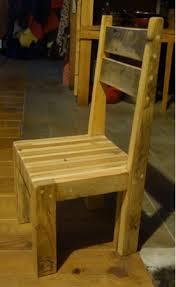 chaise ée 70 chaise en palette idées décoration intérieure
