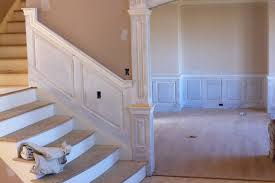 Definition Of Wainscot Beaded Raised Panel Wainscoting Staircase In A Foyer Closter New