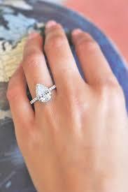 teardrop engagement rings best 25 teardrop engagement rings ideas on wedding