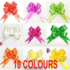 wedding gift bows pull bows ribbons 10pcs wedding gifts party x max gift wrap easy