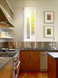 aluminum backsplash kitchen kitchen stainless steel subway tile magnetic backsplash aluminum