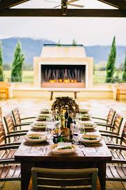 How To Set A Table For Dinner how to set a wine country inspired thanksgiving table the taste sf