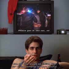 The Sopranos Meme - the sopranos meme like the cop would be calling him sir on bingememe