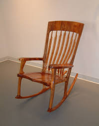 Wood Rocking Chair Koa Wood Rocking Chair
