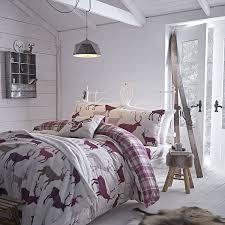 Bed Frame Homebase Co Uk Catherine Lansfield Grampian Stag Double Duvet Set Mulberry