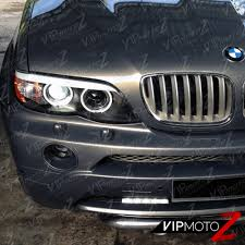 Bmw X5 4 8 - 2004 2006 bmw e53 x5 4 8is 4 4i 3 0i blk ccfl angel eye halo