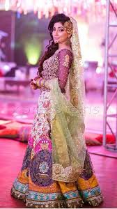 Pink Colour Combination Dresses by Best 20 Pakistani Mehndi Dress Ideas On Pinterest Robe