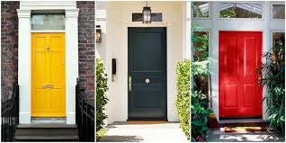 Exterior Door Paint Ideas Green Exterior Door Colors Exterior Doors Ideas