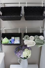 bathroom wicker storage baskets