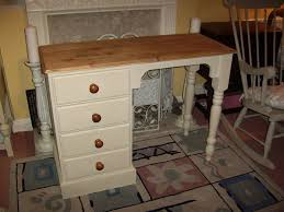 Dressing Table Shabby Chic by Solid Pine Dressing Table Shabby Chic Annie Sloan Old Ochre 4