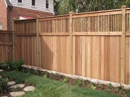 Backyard Fencing Cost - deck with privacy fence images related post from privacy fence