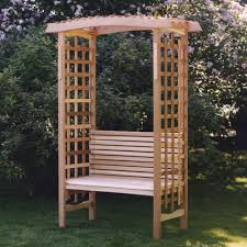 garden trellis pergola new cedar wood classic garden arbor pergola