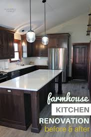 Kitchen Counters And Cabinets by Best 25 Dark Wood Cabinets Ideas On Pinterest Dark Wood