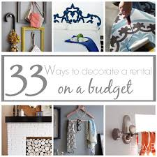 33 ways to decorate a rental on a budget how to decorate a