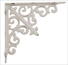 furniture wonderful iron l brackets industrial wall shelving