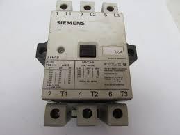 siemens 3tf 4922 oak6 contactor relay 120v