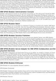 ibm spss modeler 16 quellen prozess und ausgabeknoten pdf