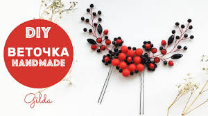handmade hair accessories easy hair vine diy tutorial handmade hair accessories eng subs