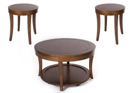3 piece end table set darby home co locke 3 piece coffee table set reviews wayfair