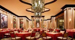 restaurant dining room design las vegas fine dining restaurants sinatra encore resort