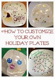 Holiday Crafts Pinterest - easy diy holiday craft make some sharpie holiday plates using