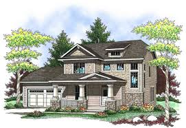 two story craftsman with front porch 89659ah architectural