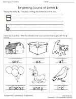 free preschool letter worksheets for teaching letter recognition
