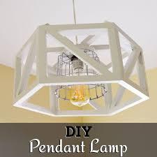 Pendant Light Diy Diy Hexagon Pendant L Hometalk