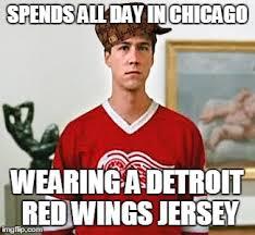 Red Wings Meme - douchebag cameron imgflip